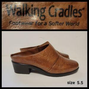Walking Cradles Leather Tool Design Mules